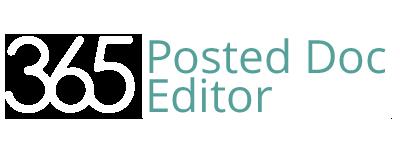 Logo 365 Posted Doc Editor