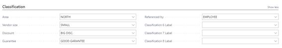 MU - 365 Advanced Classification