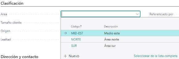 MU - 365 Advanced Classification ES