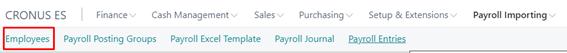 365 Payroll Importing 32 EN