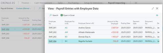 365 Payroll Importing 64 EN