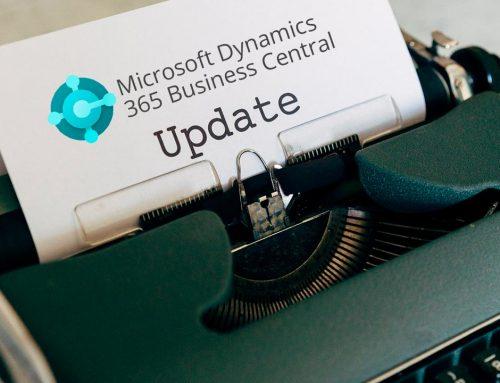 Actualización 365 Business Central: Versión 18.1